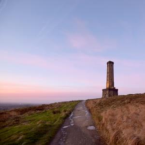 Peel Tower abseil location